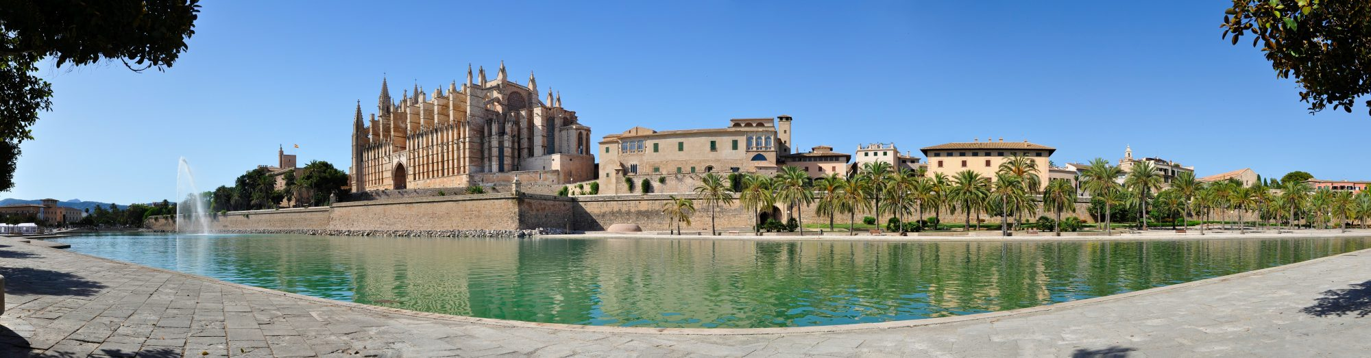 Mallorca Cathedral Panorama